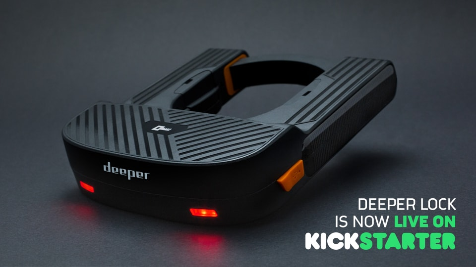 The First Ever GPS Smart Bike Lock Now on Kickstarter