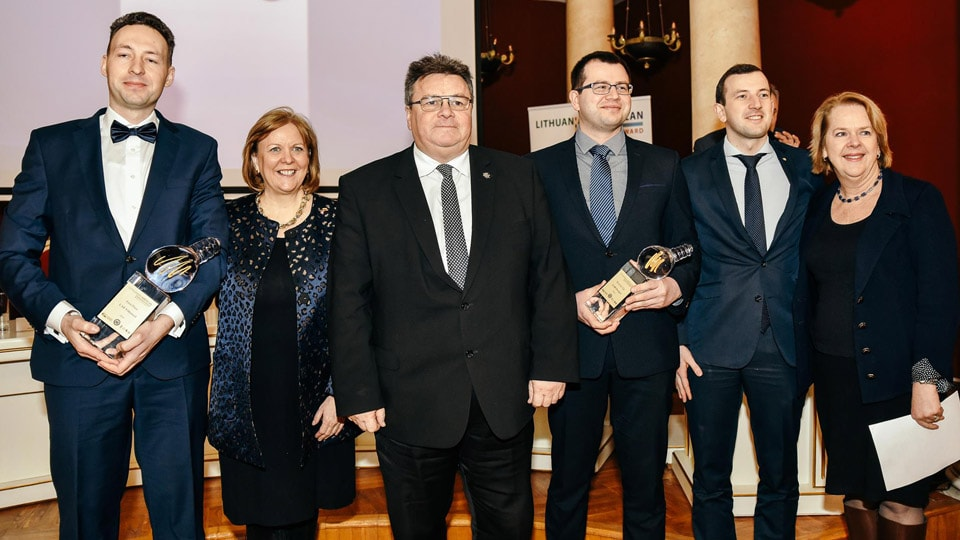 Deeper Pick Up Lithuanian-American Innovation Award